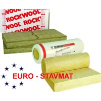 Rockwool fasrock 60 mm, 2,4m2/bal